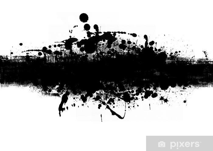 Fototapeta winylowa Czarny sztandar - Sztuka i twórczość