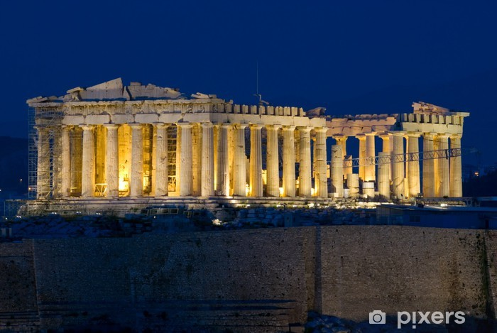 Fotomural Estándar El Partenón de la Acrópolis, Atenas, Grecia - Temas