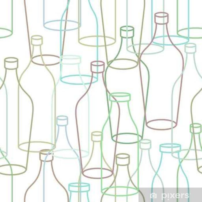 Carta Da Parati Bottiglie.Carta Da Parati Bottiglia Di Vetro Seamless Vuota Bottiglie Trasparenti Sfondo Retro Consistenza Del Tessuto Pixers Viviamo Per Il Cambiamento