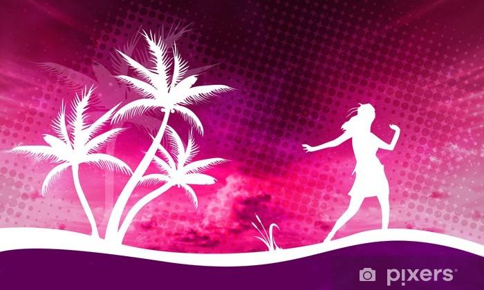 Papier peint vinyle Danse - Sports individuels