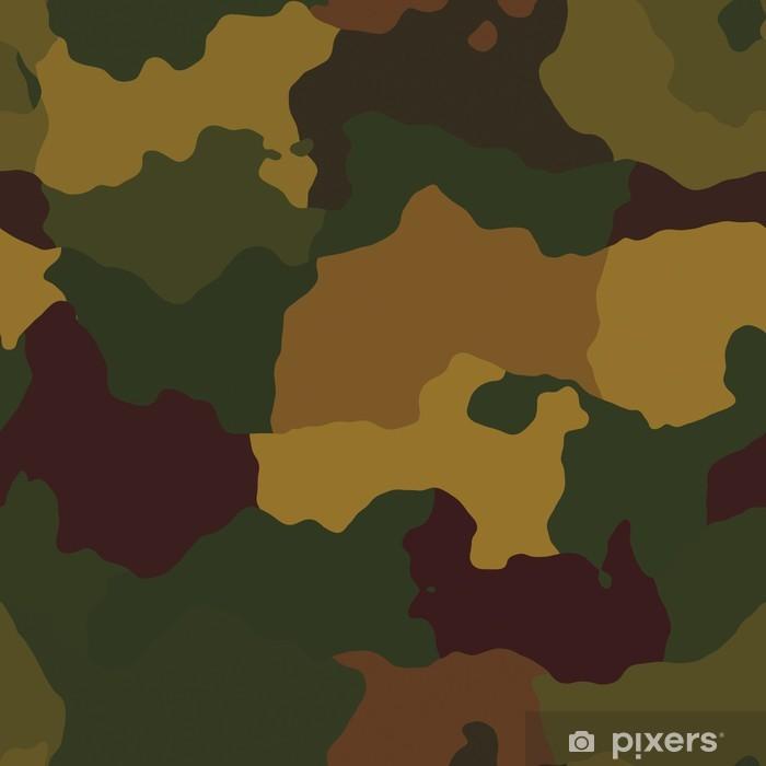 Vinyl Fotobehang Camouflage patroon - Criteo