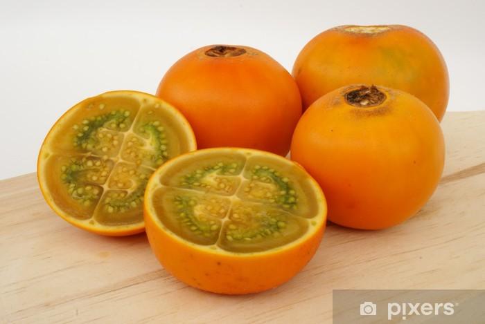 Sticker Pixerstick LULOS - Fruits