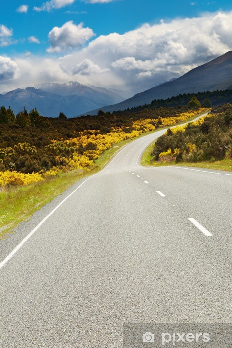 Vinilo Pixerstick Carretera de montaña - Temas
