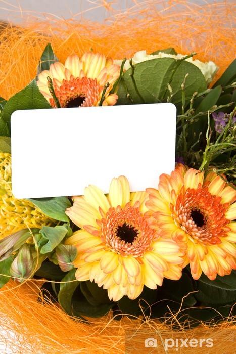 Nálepka Pixerstick Blumen und Blüten - Slavnosti