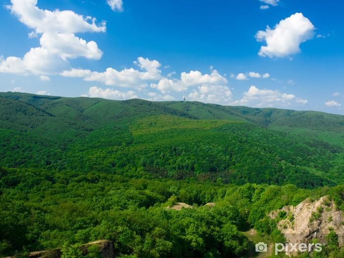 Naklejka Pixerstick Fruska Gora National Park-Serbia - Góry