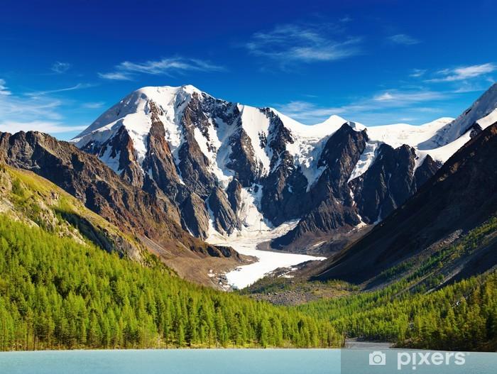 Naklejka Pixerstick Górski krajobraz - Góry