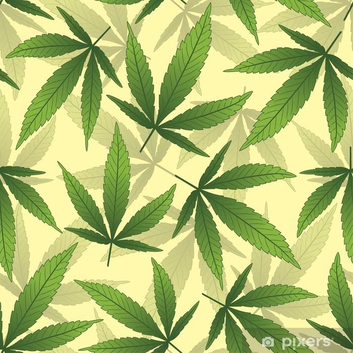 Fototapeta winylowa Marihuana - Rośliny