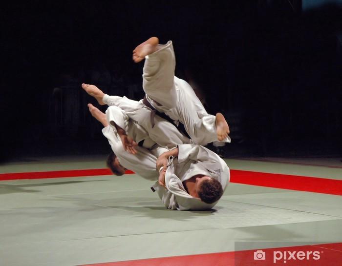 Fototapet av Vinyl Judo kampen - Teman