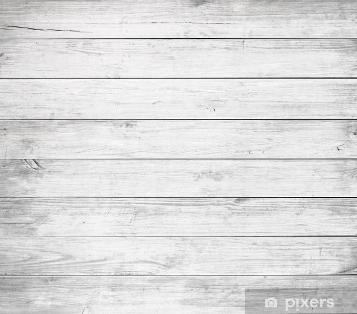 Witte Planken Aan De Muur.Fotobehang Witte Houten Planken Tafelblad Vloeroppervlak Of Muur