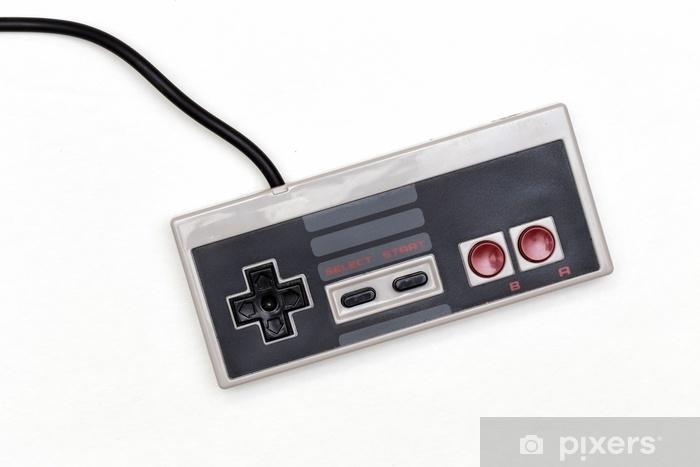Naklejka Pixerstick Klasyczna konsola do gier - Hobby i rozrywka