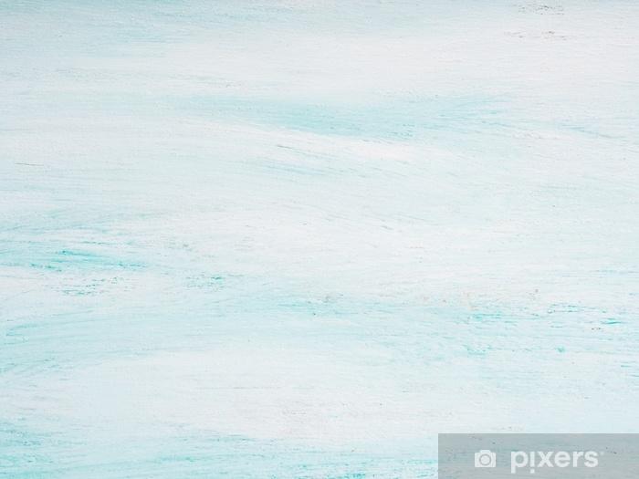 Fototapeta zmywalna Zielony pastelowy kolor teksturowane drewniane sprężyny wielkanocne tło - Zasoby graficzne
