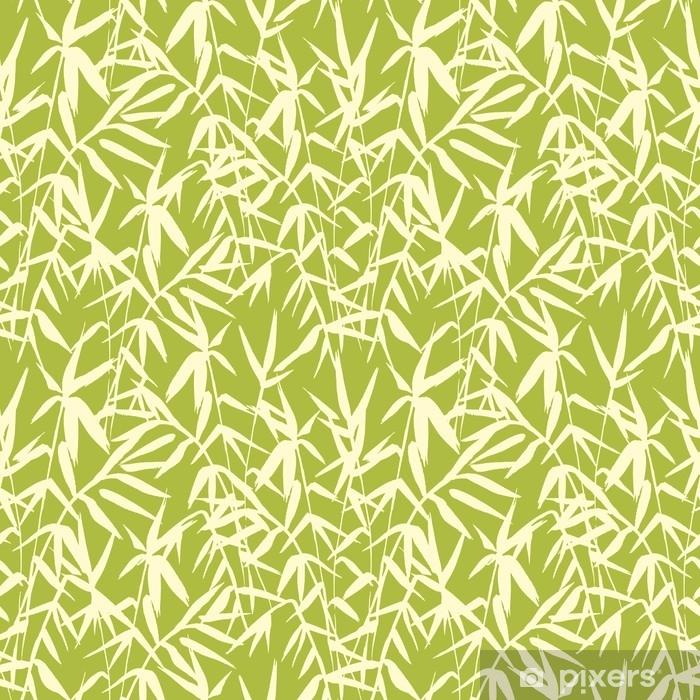 papier peint mod le sans couture de bambou sur fond vert dans un style japonais l g res. Black Bedroom Furniture Sets. Home Design Ideas