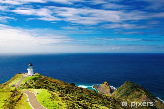 Vinilo Pixerstick Faro de Cabo Reinga, Nueva Zelanda - Faro