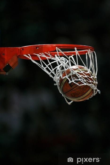 "Sticker Pixerstick ""basketball - Sports collectifs"