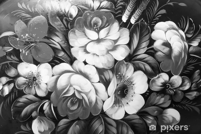 Yağlı Boya Izlenimcilik Tarzı Doku Boyama çiçek Hala Hayat Boyama