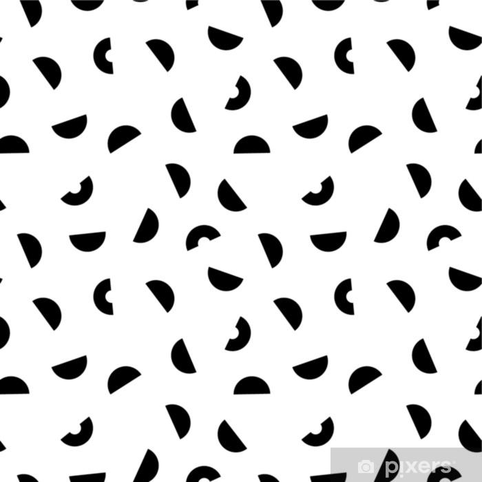 Sticker Pixerstick Modèle sans couture de memphis. - Ressources graphiques