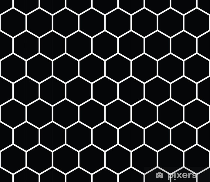 fad51972 Geometrisk hexagon minimal grid grafisk mønster baggrund Vinyl fototapet -  Grafiske Ressourcer
