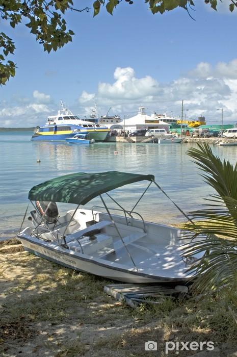 Papier peint vinyle Transporter à Harbor Island, Bahamas - Vacances