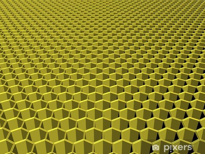 Arı Petek Duvar Resmi Pixers Haydi Dünyanızı Değiştirelim