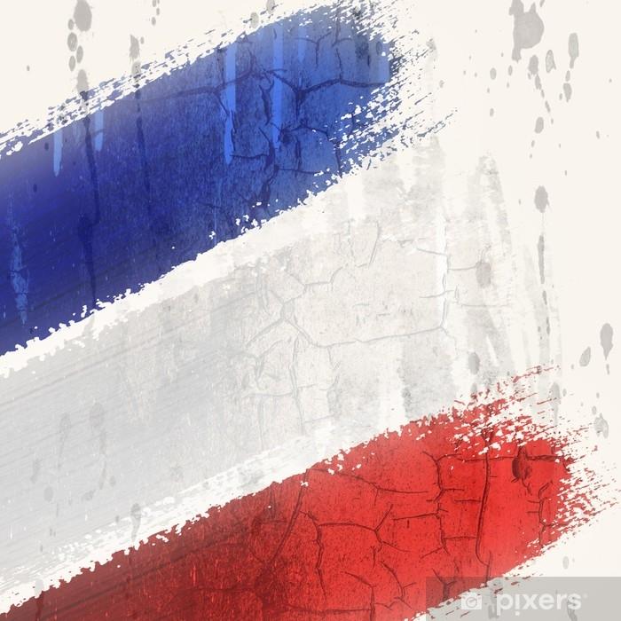 Koc pluszowy Flaga Francji - Zasoby graficzne