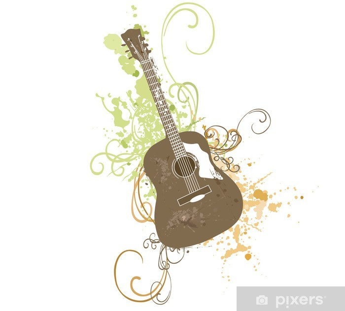 Poster Gitarre - Themen