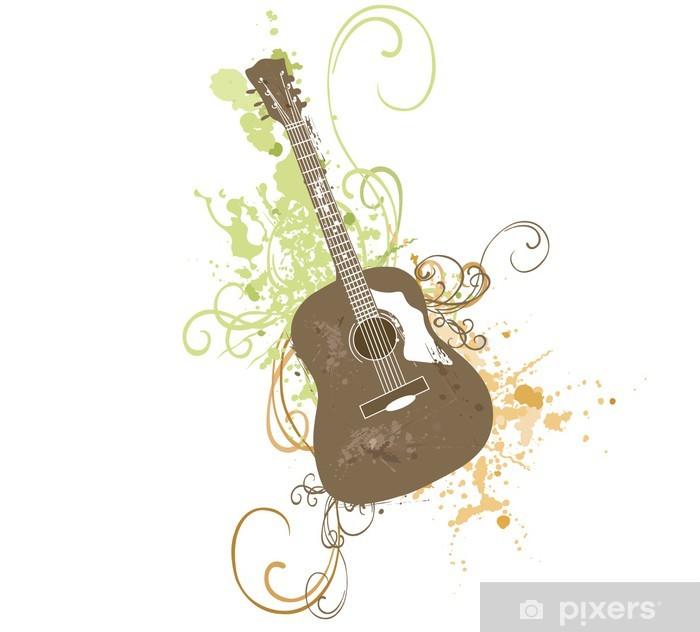 Poster Guitare - Thèmes