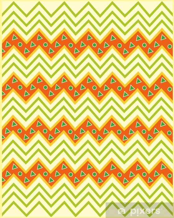 Sticker Pixerstick Motif africain - Afrique