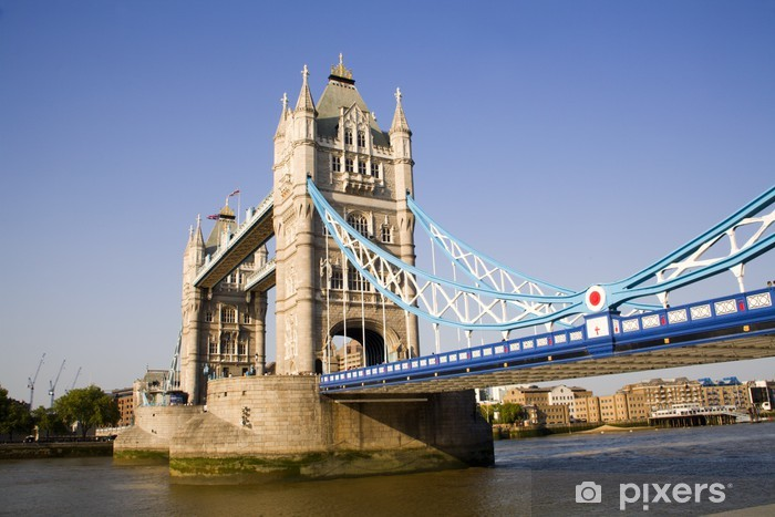 Papier peint vinyle London Tower Bridge - Thèmes