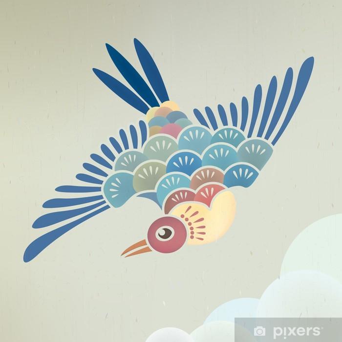 flying Pixerstick Sticker - Birds
