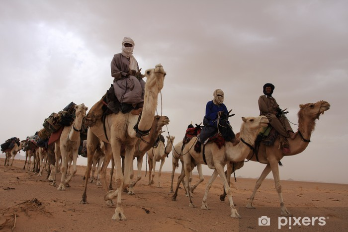 Vinilo Pixerstick Tuareg - África