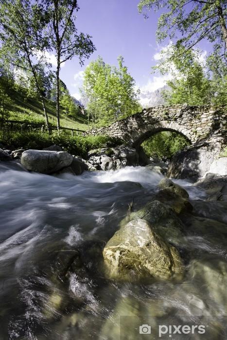 Fototapeta winylowa Oules Diabelski Most, Valgaudemar - Tematy