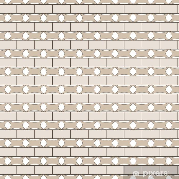 Sticker Pixerstick Modèle sans couture rectangle. - Ressources graphiques