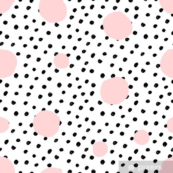 Poster Bunte Punkte Nahtlose Muster Pixers 1