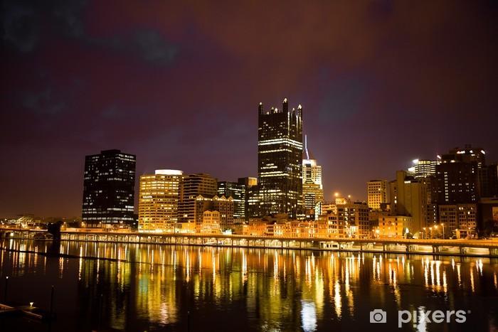 Vinyl-Fototapete Pittsburgh - Amerika