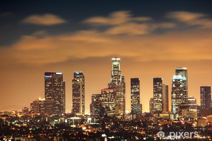 Papier peint vinyle Downtown Los Angeles Skyline - Thèmes