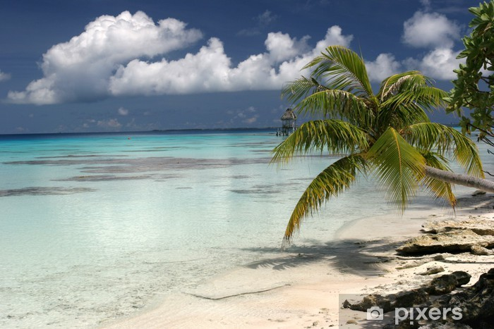 Papier peint vinyle Ile paradisiaque - Vacances