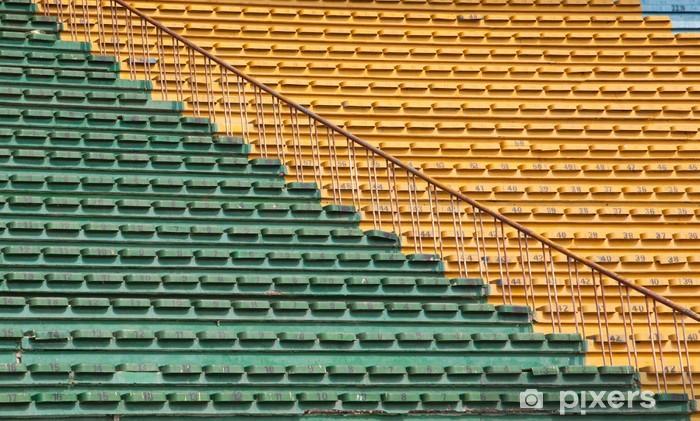 Fototapeta winylowa Siedziska stadionowe - Budynki użyteczności publicznej