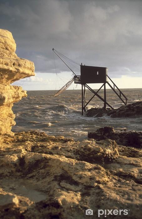 Sticker Pixerstick Cabane de pêcheur royan - Sports d'extérieur