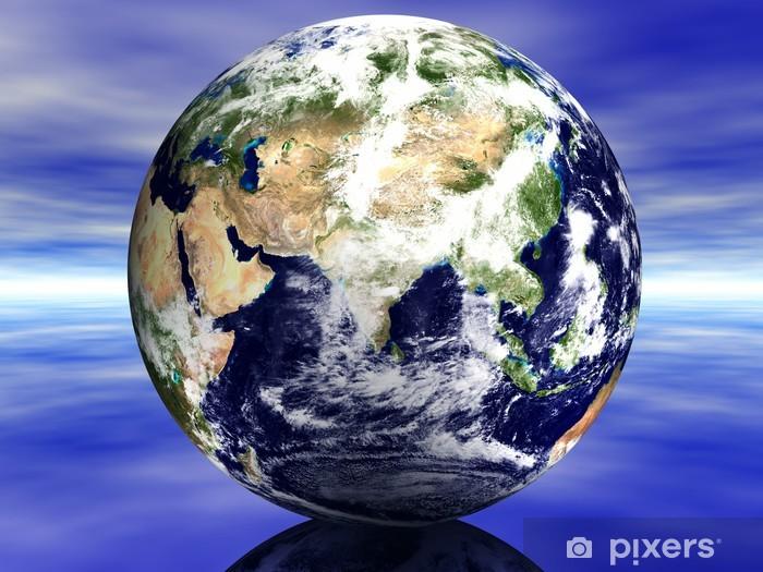 Naklejka Pixerstick Ziemia Bliski Wschód - Ziemia