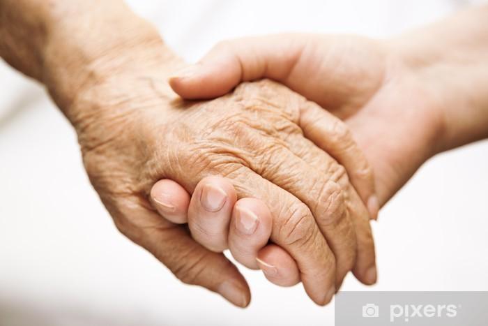 Pixerstick Dekor Vuxen hjälpa äldre på sjukhus - Kroppsdelar