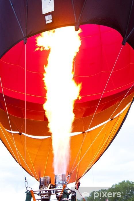 Papier peint vinyle Ballon air chaud - Dans les airs