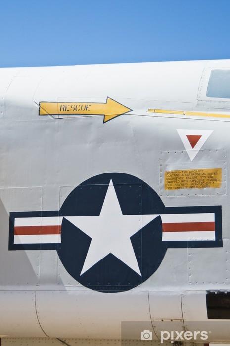 Fototapeta winylowa Zamknąć z USA sił powietrznych symbolem. - Sukces i osiągnięcia