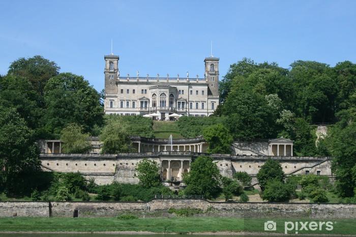 Papier peint vinyle Schloss an der Elbe - Thèmes