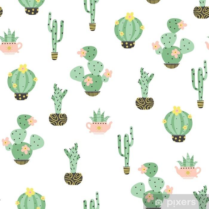 Papier Peint Fond Transparent Avec Cactus Pixers Nous Vivons