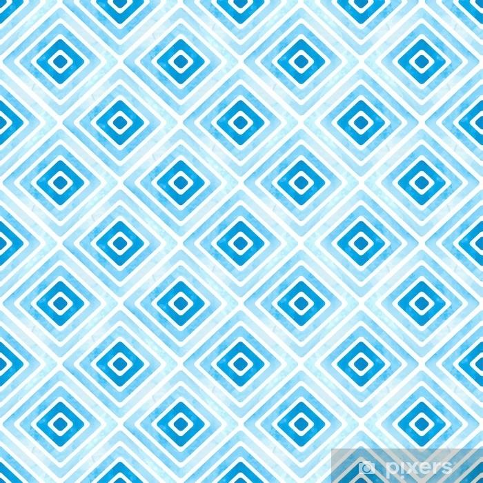 Papier Peint Motif Geometrique Bleu Sans Soudure Texture De Losange