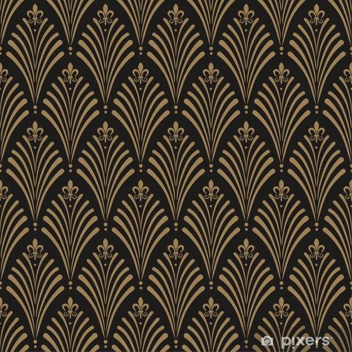 Art Deco, seamless wallpaper pattern Vinyl Wall Mural - Graphic Resources