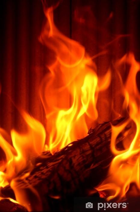 Pixerstick Aufkleber Brand - Haus und Garten
