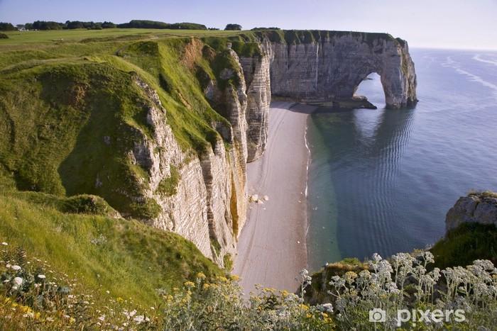 France Normandie Etretat Falaise D Aval Wall Mural Pixers