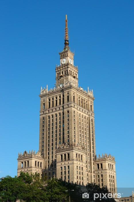 Vinilo Pixerstick Palacio de la Cultura en Varsovia (Varsovia) - Temas