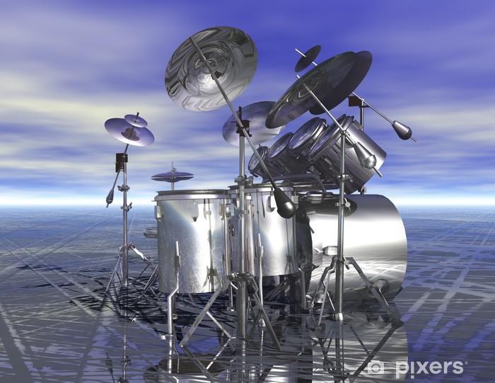 Fotomural Estándar Drums - Señales y símbolos
